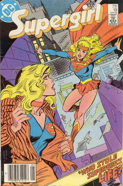 Cover for Supergirl (DC, 1983 series) #19 [direct-sales]