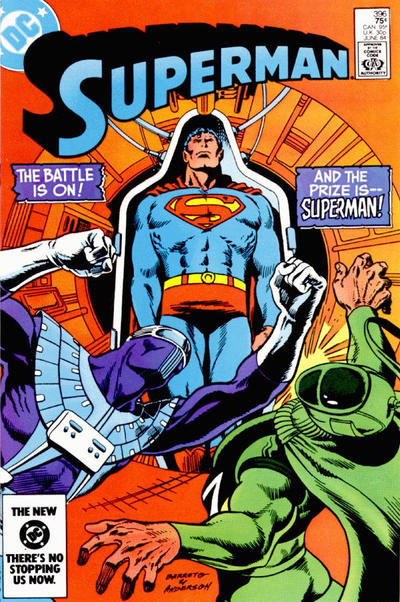 Cover for Superman (DC, 1939 series) #396 [Newsstand]