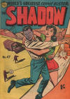 Cover for The Shadow (Frew Publications, 1952 series) #47