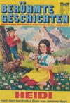 Cover for Bastei Sonderband (Bastei Verlag, 1970 series) #37 - Heidi