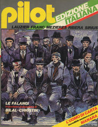 Cover Thumbnail for Pilot (Edizioni Nuova Frontiera, 1981 series) #1