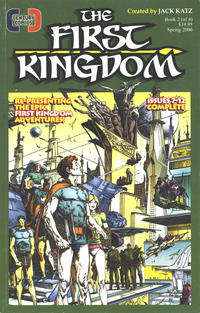 Cover Thumbnail for The First Kingdom (Century Comics For Action Hero, 2005 series) #2