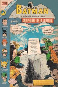 Cover Thumbnail for Batman (Editorial Novaro, 1954 series) #689