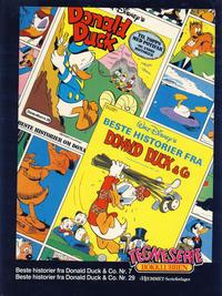 Cover Thumbnail for Tegneseriebokklubben (Hjemmet / Egmont, 1985 series) #[18] - Beste historier fra Donald Duck & Co. nr. 7; Beste historier fra Donald Duck & Co. nr. 29