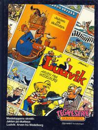 Cover Thumbnail for Tegneseriebokklubben (Hjemmet / Egmont, 1985 series) #[19] - Mastetoppens skrekk: Jakten på skattøya; Ludvik: Arven fra Wedelborg