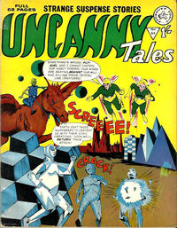 Cover Thumbnail for Uncanny Tales (Alan Class, 1963 series) #54
