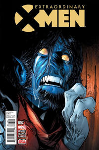 Cover Thumbnail for Extraordinary X-Men (Marvel, 2016 series) #7
