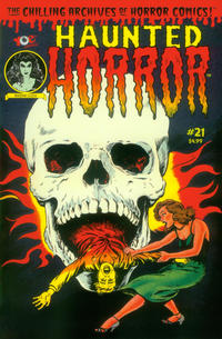 Cover Thumbnail for Haunted Horror (IDW, 2012 series) #21
