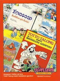 Cover Thumbnail for Tegneseriebokklubben (Hjemmet / Egmont, 1985 series) #25 - Iznogood: Kalifen på ferie!; Totto Talong møter bøddelens gjenferd