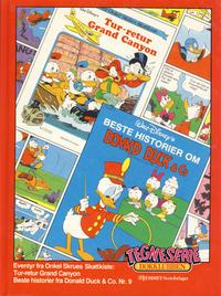 Cover Thumbnail for Tegneseriebokklubben (Hjemmet / Egmont, 1985 series) #26 - Beste historier fra Donald Duck & Co. nr. 9; Eventyr fra Onkel Skrues Skattkiste: Tur-retur Grand Canyon