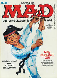 Cover Thumbnail for Mad (BSV - Williams, 1967 series) #65