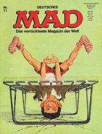 Cover Thumbnail for Mad (BSV - Williams, 1967 series) #71