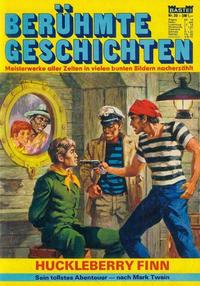Cover Thumbnail for Bastei Sonderband (Bastei Verlag, 1970 series) #30 - Huckleberry Finn