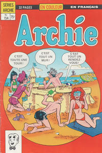 Cover Thumbnail for Archie (Editions Héritage, 1971 series) #154