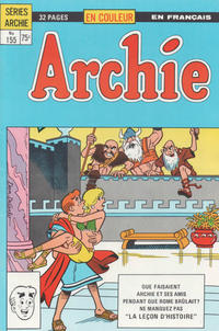 Cover Thumbnail for Archie (Editions Héritage, 1971 series) #155