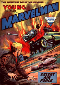 Cover Thumbnail for Young Marvelman (L. Miller & Son, 1954 series) #215