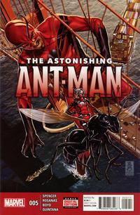 Cover Thumbnail for The Astonishing Ant-Man (Marvel, 2015 series) #5 [Mark Brooks Cover]
