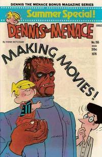 Cover Thumbnail for Dennis the Menace Bonus Magazine Series (Hallden; Fawcett, 1970 series) #155