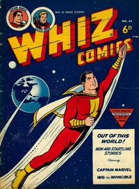 Cover Thumbnail for Whiz Comics (L. Miller & Son, 1950 series) #64