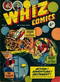 Cover Thumbnail for Whiz Comics (L. Miller & Son, 1950 series) #68