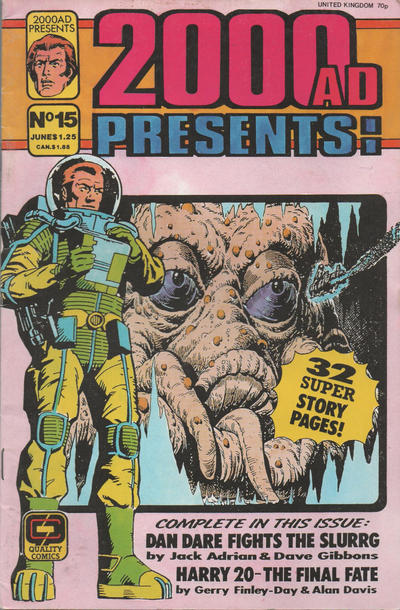 Cover for 2000 A. D. Presents (Fleetway/Quality, 1987 series) #15 [June Cover Date]