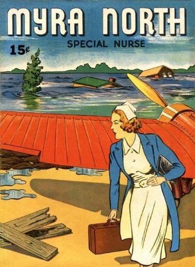 Cover for Four Color (Dell, 1939 series) #3 - Myra North Special Nurse