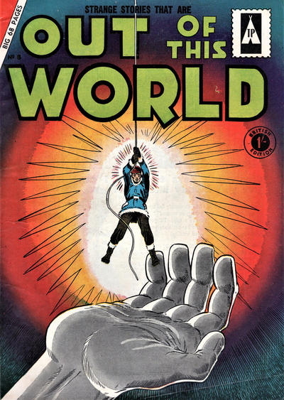 Cover for Out of This World (Thorpe & Porter, 1961 ? series) #8