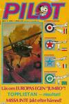 Cover for Pilot (Semic, 1970 series) #3/1976
