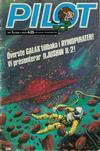 Cover for Pilot (Semic, 1970 series) #1/1980