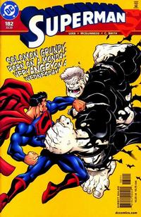 Cover Thumbnail for Superman (DC, 1987 series) #182 [Direct Sales]