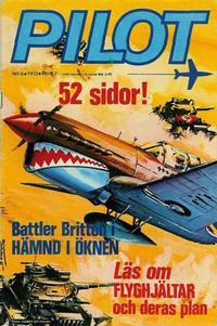 Cover Thumbnail for Pilot (Semic, 1970 series) #6/1972
