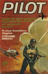 Cover Thumbnail for Pilot (Semic, 1970 series) #8/1972