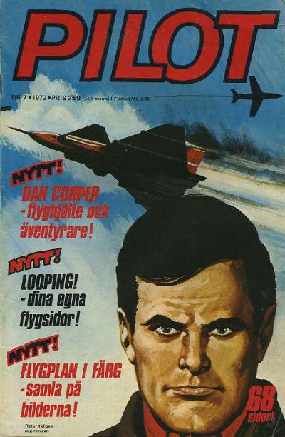 Cover for Pilot (Semic, 1970 series) #7/1972