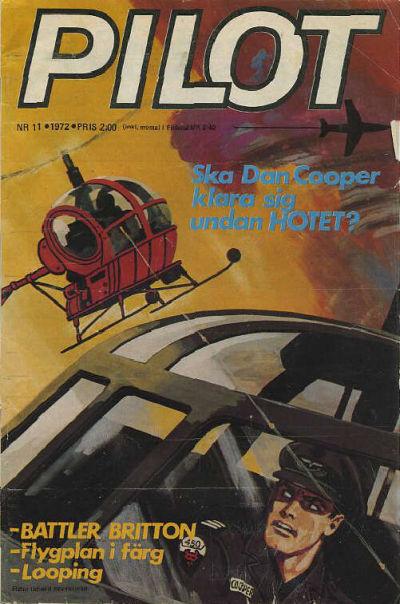 Cover for Pilot (Semic, 1970 series) #11/1972