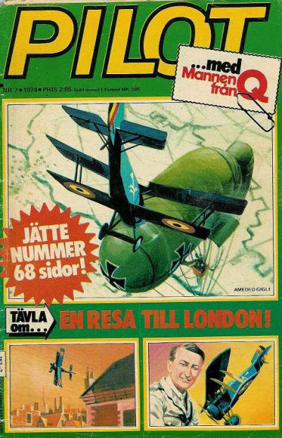 Cover for Pilot (Semic, 1970 series) #7/1974