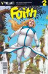 Cover for Faith (Valiant Entertainment, 2016 series) #2 [Cover C - Francis Portela]