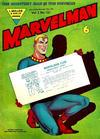 Cover for Marvelman (L. Miller & Son, 1954 series) #121