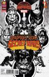 Cover for Deadpool's Secret Secret Wars (Marvel, 2015 series) #1 [2015 C2E2 Diamond Previews PX Exclusive Black and White Variant]