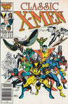 Cover for Classic X-Men (Marvel, 1986 series) #1 [Newsstand Edition]
