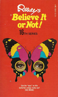 Cover Thumbnail for Ripley's Believe It or Not! (Pocket Books, 1941 series) #16 [Butterfly Cover]