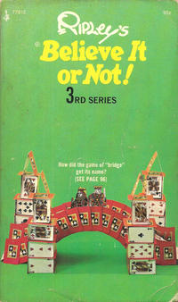 Cover Thumbnail for Ripley's Believe It or Not! (Pocket Books, 1941 series) #3 (77912) [95¢]