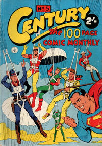 Cover Thumbnail for Century, The 100 Page Comic Monthly (K. G. Murray, 1956 series) #5