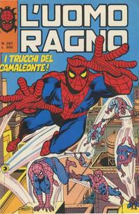 Cover Thumbnail for L'Uomo Ragno [Collana Super-Eroi] (Editoriale Corno, 1970 series) #281