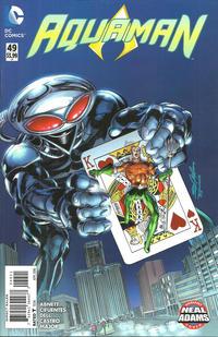 Cover Thumbnail for Aquaman (DC, 2011 series) #49 [Neal Adams Cover]