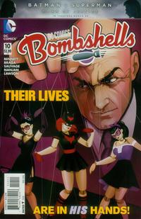 Cover Thumbnail for DC Comics: Bombshells (DC, 2015 series) #10