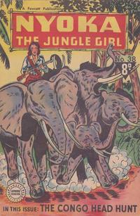 Cover Thumbnail for Nyoka the Jungle Girl (Cleland, 1949 series) #38