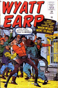 Cover for Wyatt Earp (Marvel, 1955 series) #29
