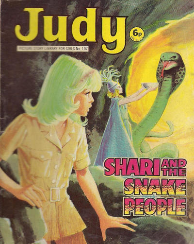 Cover for Judy Picture Story Library for Girls (D.C. Thomson, 1963 series) #107