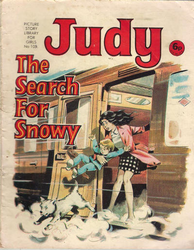Cover for Judy Picture Story Library for Girls (D.C. Thomson, 1963 series) #109