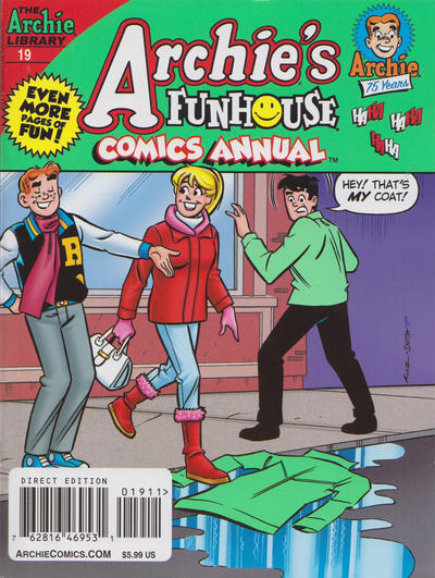 Cover for Archie's Funhouse Double Digest (Archie, 2014 series) #19